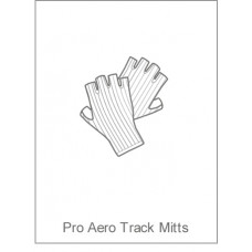 PDQ Coaching Childrens Pro Aero Track Mitts