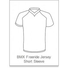 Bourne Wheelers BMX/Freeride Jersey Short Sleeve