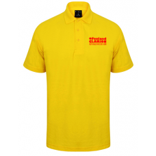 Fenland Clarion Children's Polo Shirt Yellow
