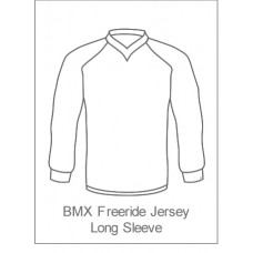 Sleaford Wheelers Childrens BMX/Freeride Jersey Long Sleeve