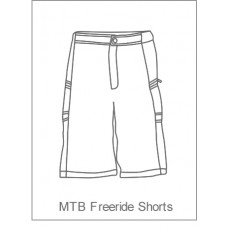 Bourne Wheelers Childrens Freeride/BMX Shorts