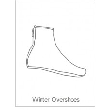 PDQ Coaching Winter Overshoes
