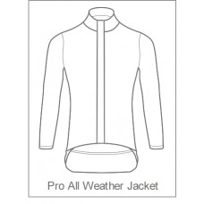 100 Percent Tri Pro All Weather Jacket Long Sleeve