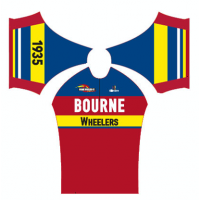 Bourne Wheelers Retro Summer Jersey Short Sleeve