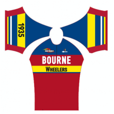 Bourne Wheelers Childrens Retro Summer Jersey Short Sleeve