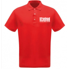 Fenland Clarion Children's Polo Shirt Red