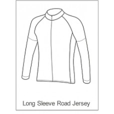 Bourne Wheelers Childrens Summer Jersey Long Sleeve
