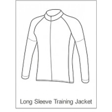 Bourne Wheelers Childrens Training Jacket Long Sleeve