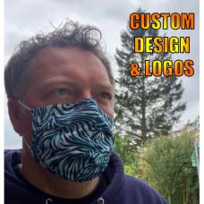 Reusable Face Masks | Built In Filter Custom Design/Logo