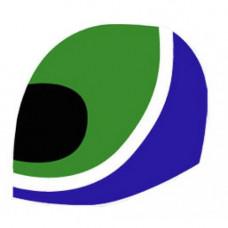 Austin Rover Helmet Logo Decals x2