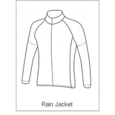Bourne Wheelers Childrens Rain Jacket Long Sleeve