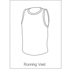 Louth Tri - Running Vest Black Design