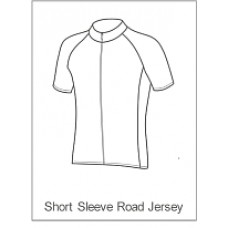 Bourne Wheelers Childrens Summer Jersey Short Sleeve