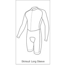 Lincoln Tri Childrens Skinsuit Long Sleeve