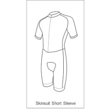 PDQ Coaching Skinsuit Short Sleeve