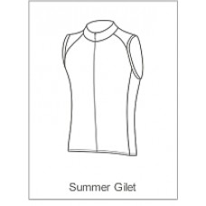 Team Cystic Fibrosis Childrens Summer Gilet