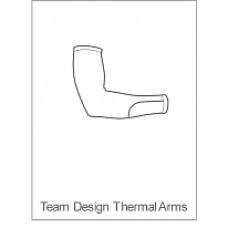 Team Cystic Fibrosis Childrens Winter Armwarmers