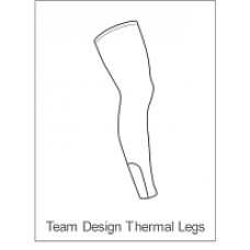 Team Cystic Fibrosis Childrens Winter Legwarmers