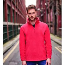 Team Trident Fleece Jacket Red
