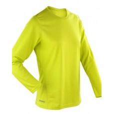 Team Trident Hi Vis Running T Shirt Long Sleeve