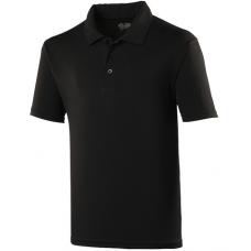 Team Trident Polo Shirt Black