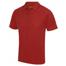Team Trident Polo Shirt Red