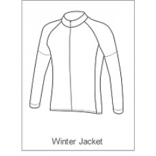 Team Cystic Fibrosis Childrens Winter Jacket Long Sleeve