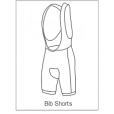 You Can Sport Childrens Bibshorts