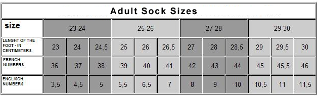 adult-sock-sizes