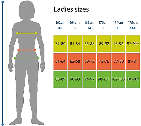 ladies-size-chart